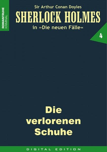 E-Book Sherlock Holmes 04: Die verlorenen Schuhe