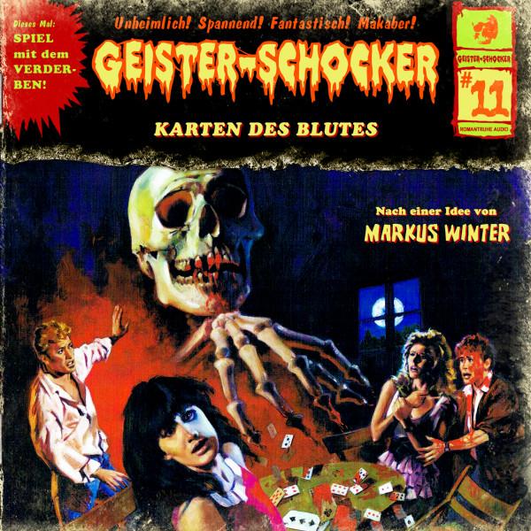 Geister-Schocker CD 11: Die Karten des Blutes