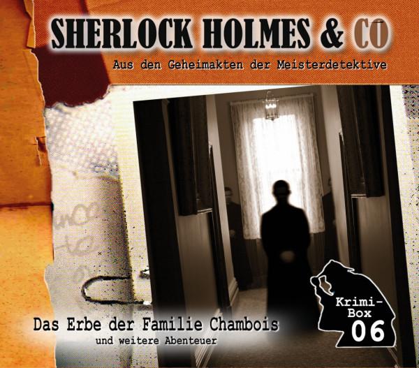 Sherlock Holmes und Co. Box 6: mit den Folgen 16-18