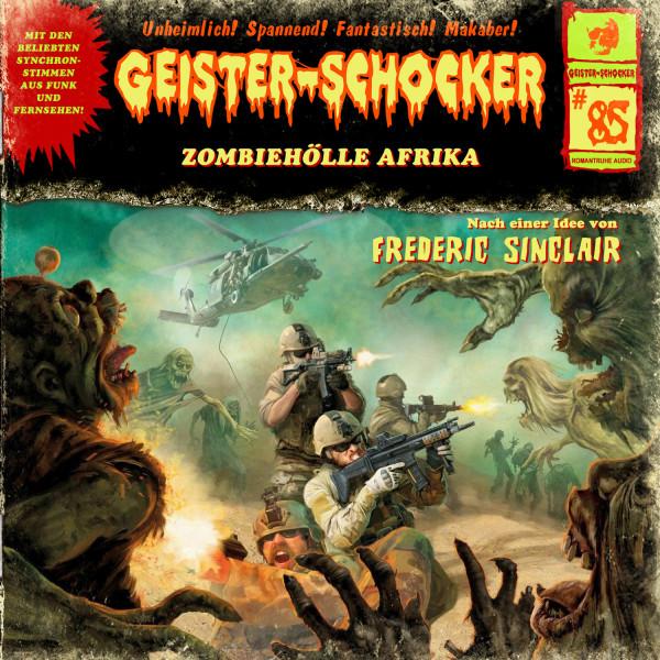 MP3-DOWNLOAD Geister-Schocker 85: Zombiehölle Afrika