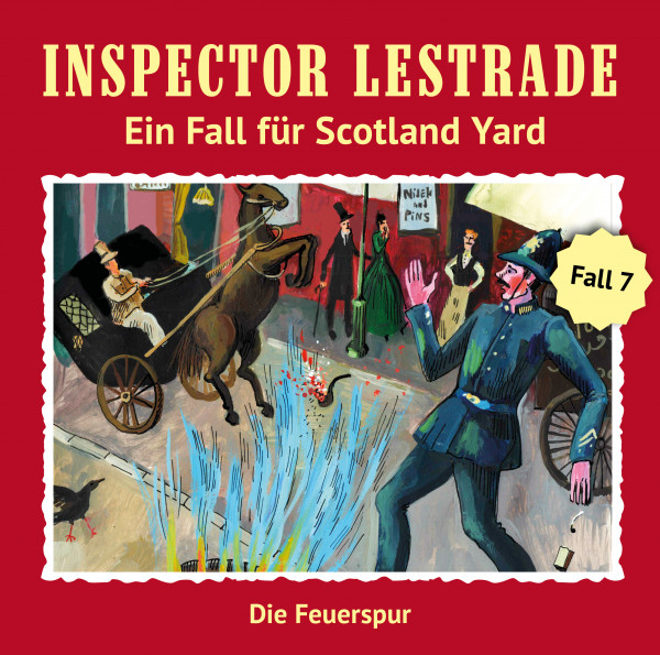 MP3-DOWNLOAD Inspector Lestrade 7: Die Feuerspur