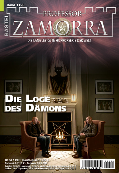 Professor Zamorra 1190: Die Loge des Dämons