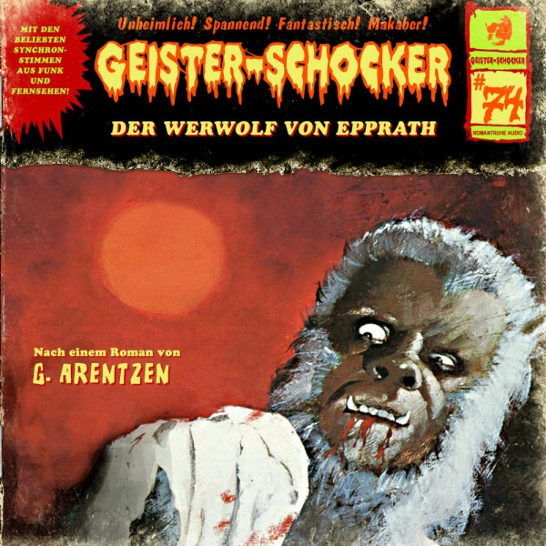 MP3-DOWNLOAD Geister-Schocker 74: Der Werwolf von Epprath