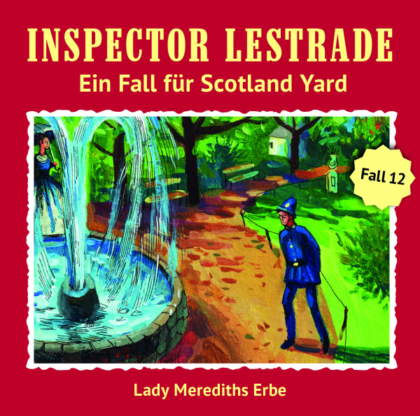 Inspector Lestrade CD 12: Lady Merediths Erbe