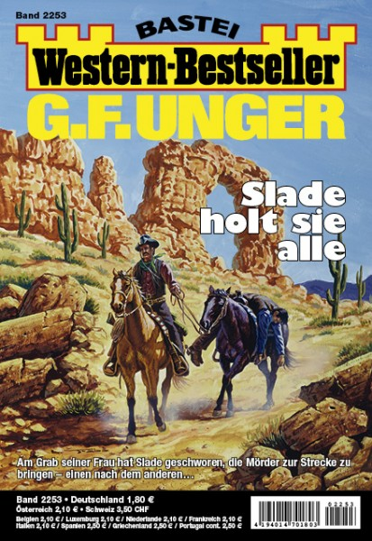 Western-Bestseller: Abo - jährliche Zahlung (52 Hefte/Jahr)