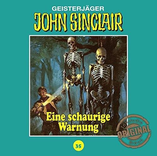 John Sinclair Tonstudio-Braun CD 35: Eine schaurige Warnung