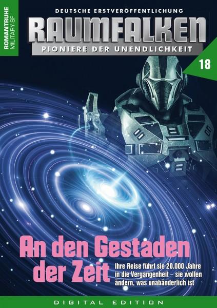 E-Book Raumfalken 18: An den Gestaden der Zeit