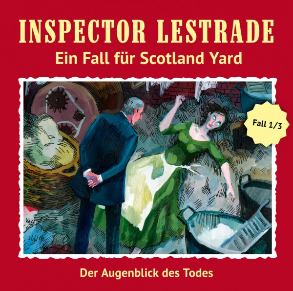MP3-DOWNLOAD Inspector Lestrade 1: Der Augenblick des Todes