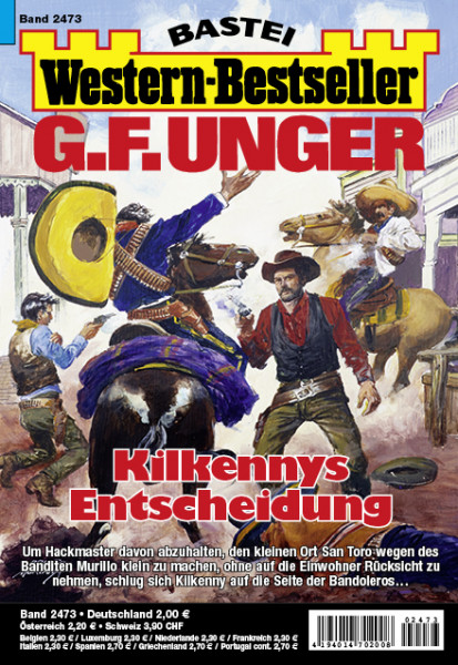 Western-Bestseller 2473: Kilkennys Entscheidung