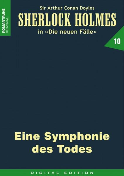 E-Book Sherlock Holmes 10: Eine Symphonie des Todes