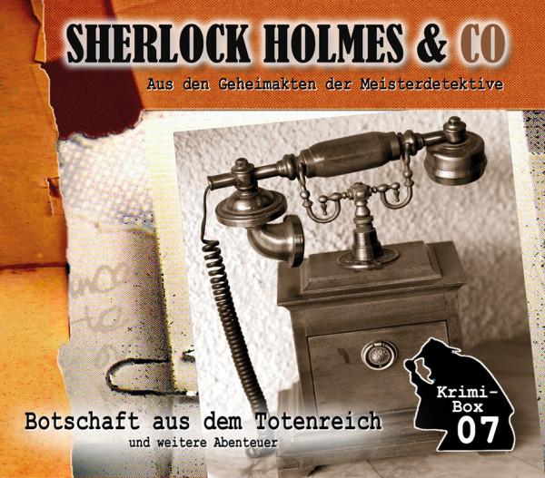 Sherlock Holmes und Co. Box 7: mit den Folgen 20-22