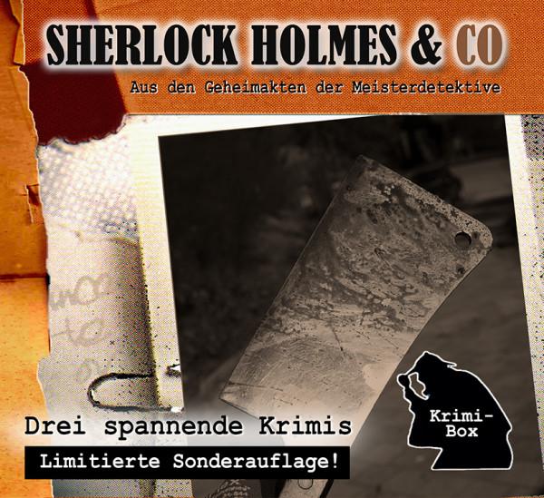 Sherlock Holmes und Co. Box 12: mit den Folgen 36-38