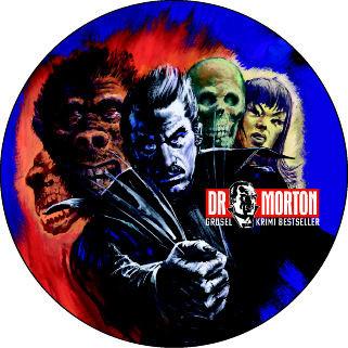 Dr. Morton Bierdeckel Motiv Dr. Morton 10 Stück