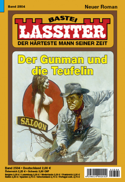 Lassiter 1. Auflage 2504: Der Gunman und die Teufelin