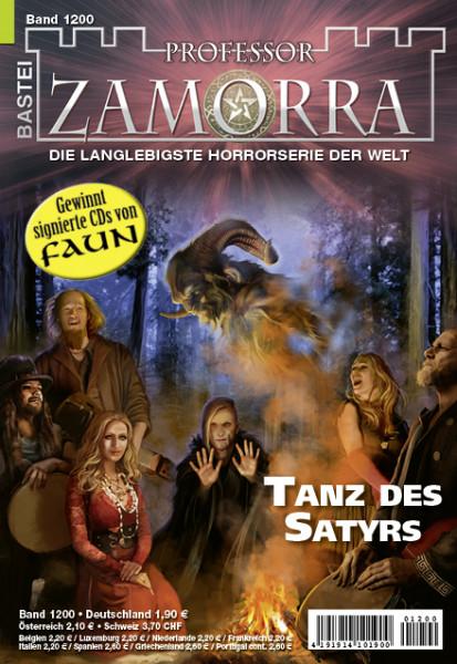 Professor Zamorra 1200: Tanz des Satyrs