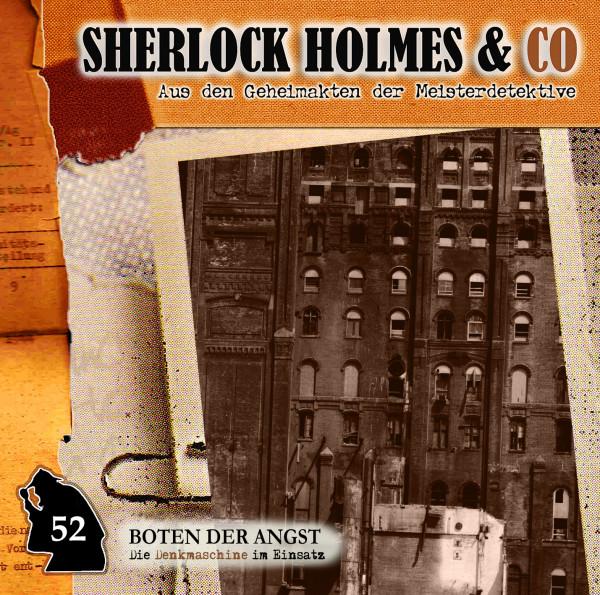 Sherlock Holmes und Co. CD 52: Boten der Angst