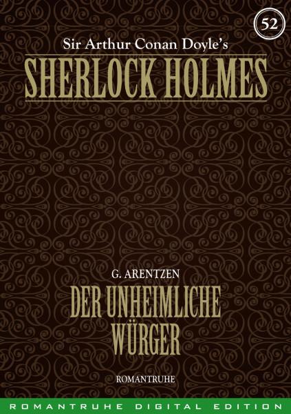 E-Book Sherlock Holmes 52: Der unheimliche Würger