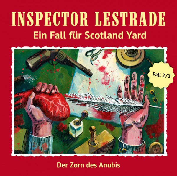 MP3-DOWNLOAD Inspector Lestrade 2: Der Zorn des Anubis