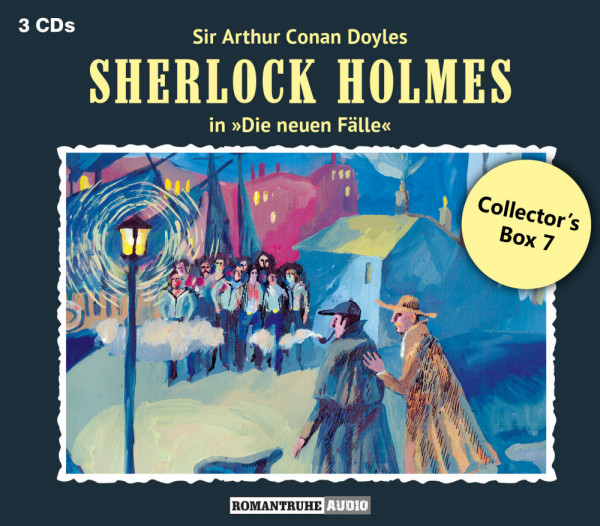 Sherlock Holmes-Neue Fälle Collectors Box 7: mit den Folgen 19-21