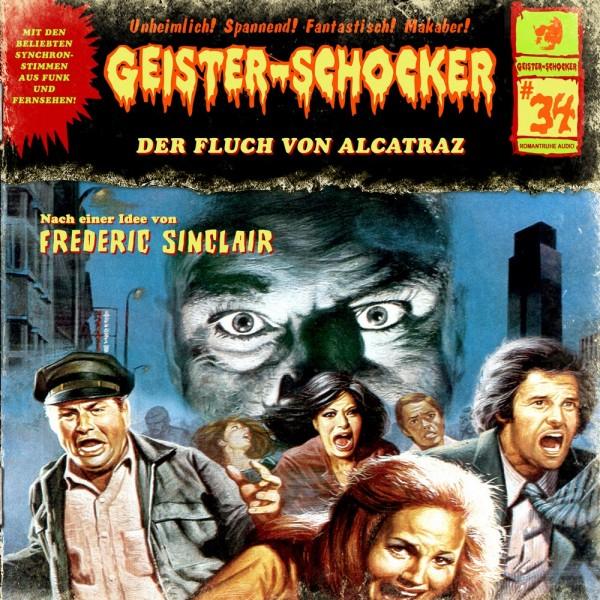 Geister-Schocker CD 34: Der Fluch von Alcatraz