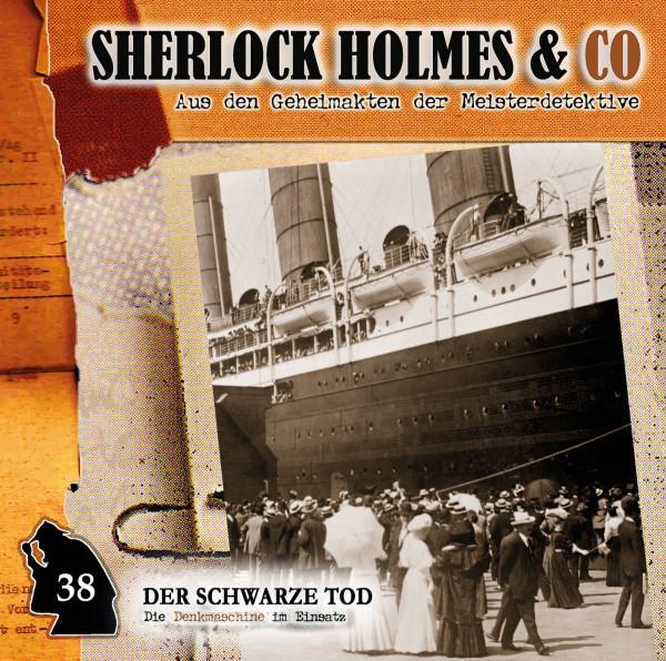 Sherlock Holmes und Co. CD 38: Der Schwarze Tod