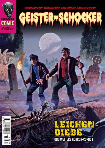 Geister-Schocker-Comic 06: Leichen-Diebe