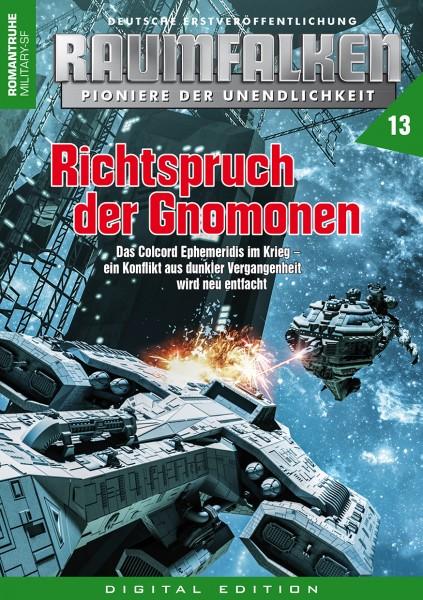 E-Book Raumfalken 13: Richtspruch der Gnomonen