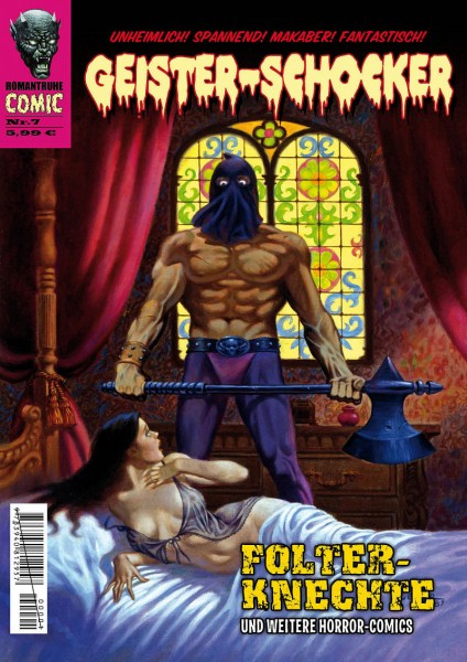 Geister-Schocker-Comic 07: Folter-Knechte