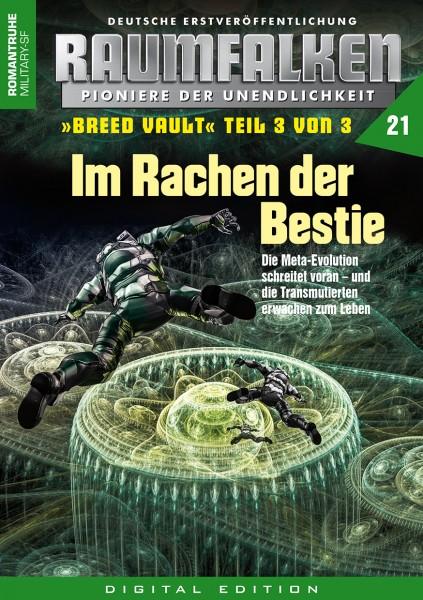 E-Book Raumfalken 21: Im Rachen der Bestie