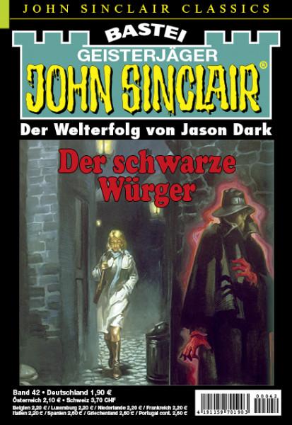 John Sinclair Classics 42: Der schwarze Würger