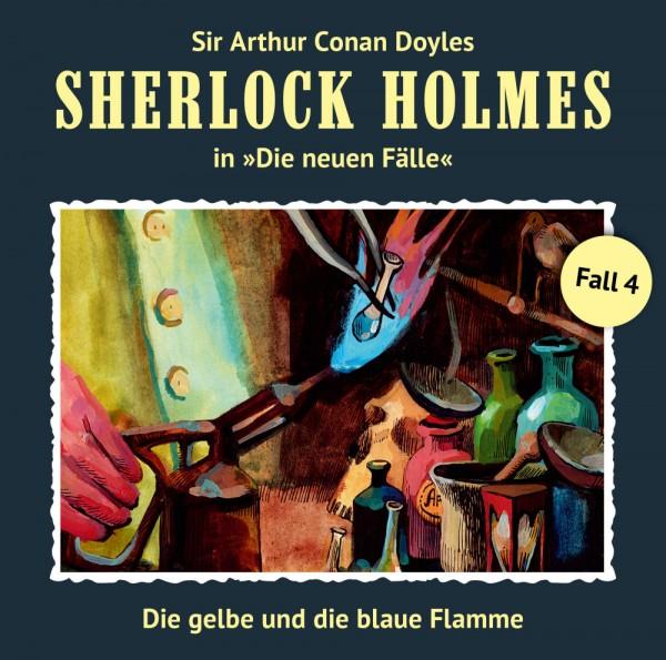 MP3-DOWNLOAD Sherlock Holmes-Neue Fälle 04: Die gelbe und die blaue Flamme