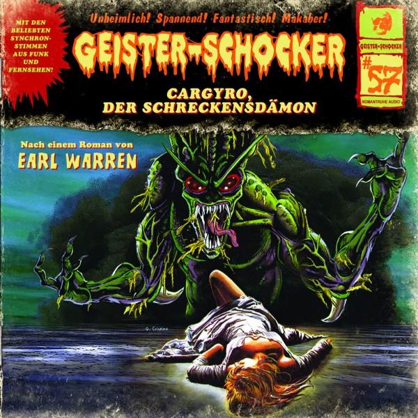 Geister-Schocker CD 57: Cargyro, der Schreckensdämon