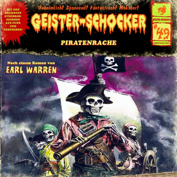 Geister-Schocker CD 49: Piratenrache