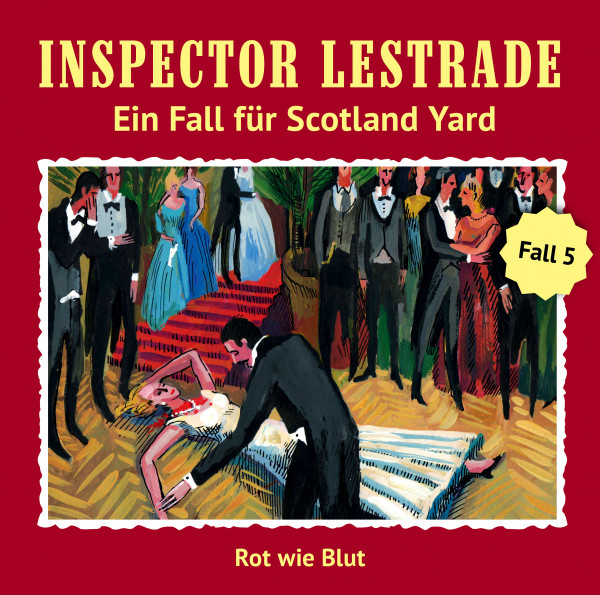 MP3-DOWNLOAD Inspector Lestrade 5: Rot wie Blut