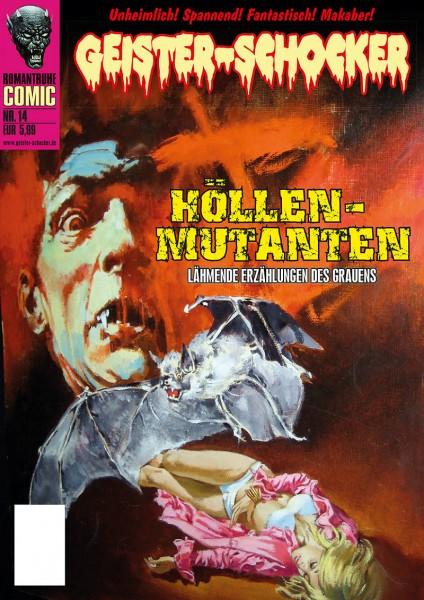 Geister-Schocker-Comic 14: Höllen-Mutanten