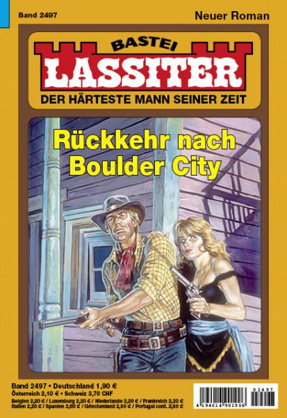 Lassiter 1. Auflage 2497: Rückkehr nach Boulder City