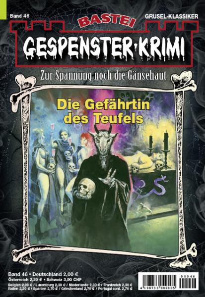 Gespenster-Krimi 46: Die Gefährtin des Teufels
