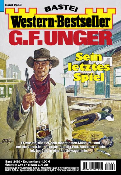 Western-Bestseller 2469: Sein letztes Spiel