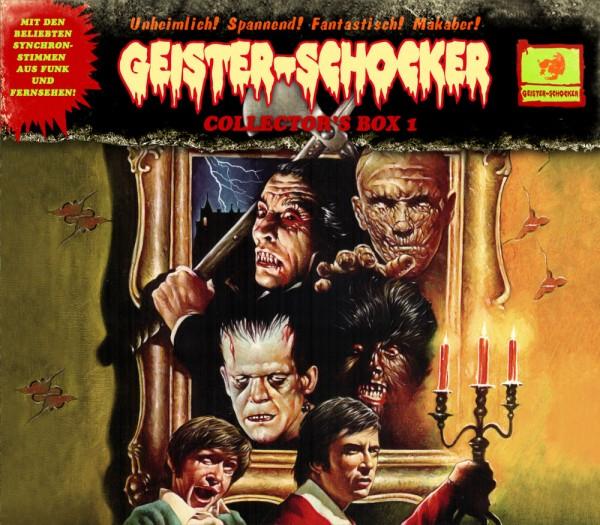 Geister-Schocker Collectors Box 1: CD 0, SE und 1