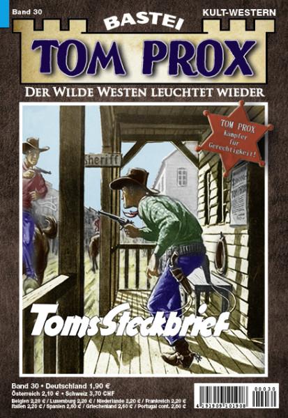 Tom Prox 30: Toms Steckbrief