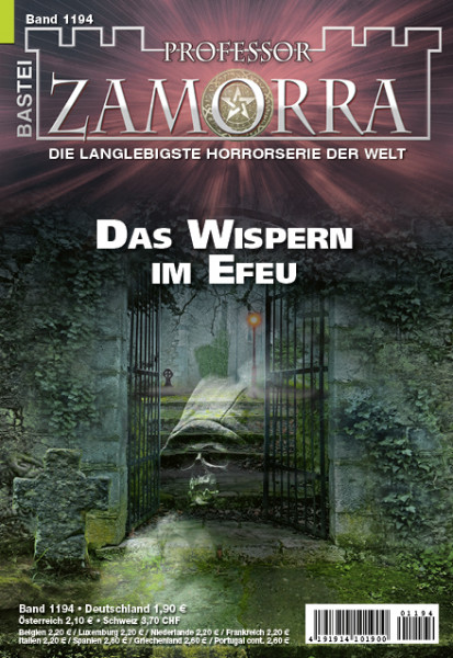 Professor Zamorra 1194: Das Wispern im Efeu