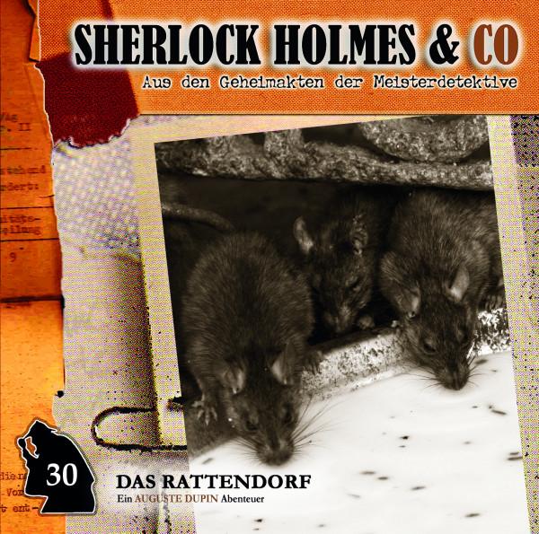 Sherlock Holmes und Co. CD 30: Das Rattendorf