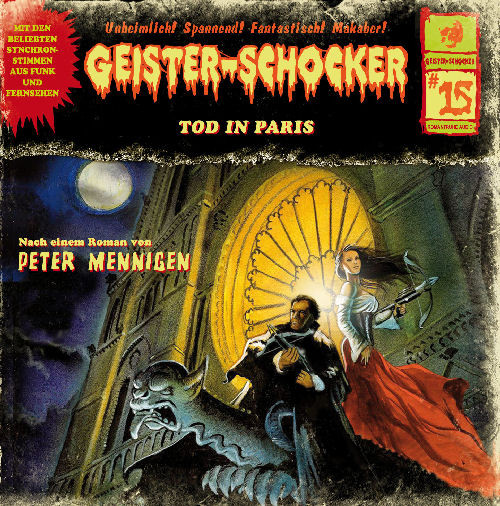 Geister-Schocker CD 15: Tod in Paris