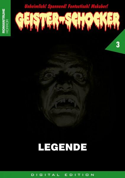 E-Book Geister-Schocker 03: Legende