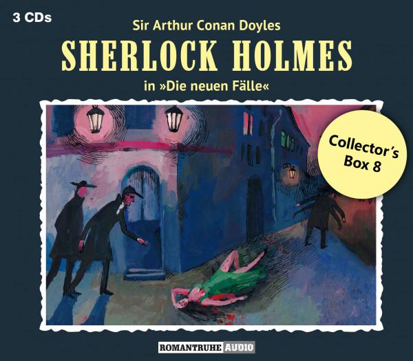 Sherlock Holmes-Neue Fälle Collectors Box 8: mit den Folgen 22-24