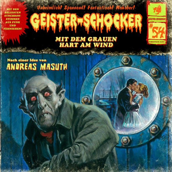 Geister-Schocker CD 54: Mit dem Grauen hart am Wind