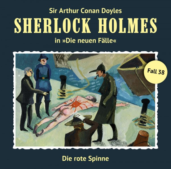 MP3-DOWNLOAD Sherlock Holmes-Neue Fälle 38: Die rote Spinne