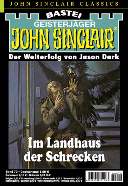 John Sinclair Classics 70: Im Landhaus der Schrecken