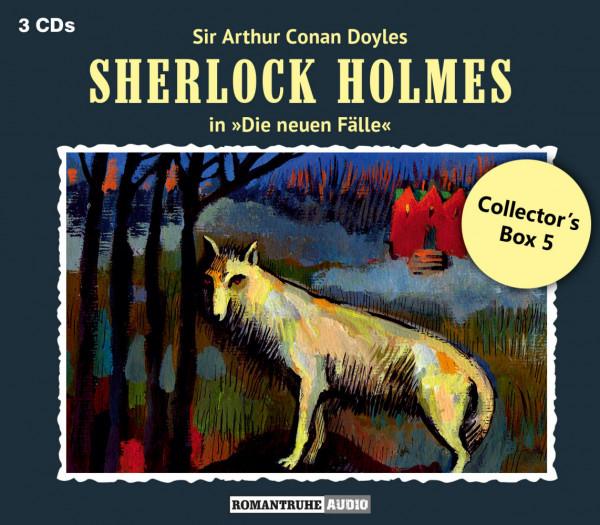 Sherlock Holmes-Neue Fälle Collectors Box 5: mit den Folgen 13-15
