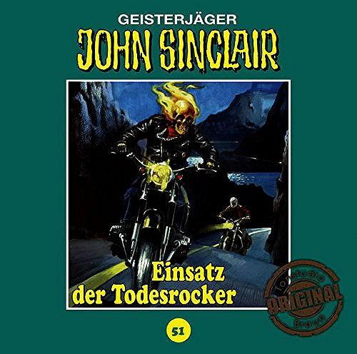John Sinclair Tonstudio-Braun CD 51: Einsatz der Todesrocker